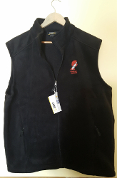 Fleece Vest (Men's, Black)